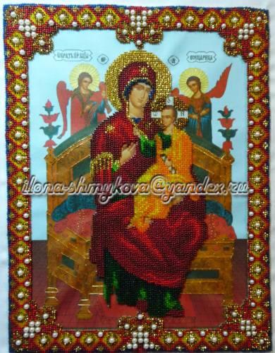 Икона божьей матери всецарица 35 6х27 5